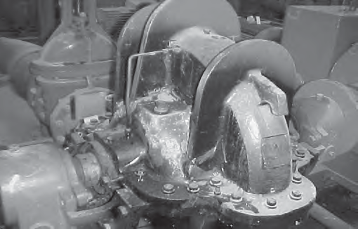Overheating damage resulting from circulation relief valve failure