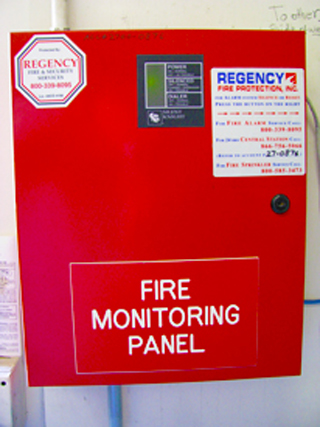 Regency Fire Alarm Systems Monitoring Protection Fire