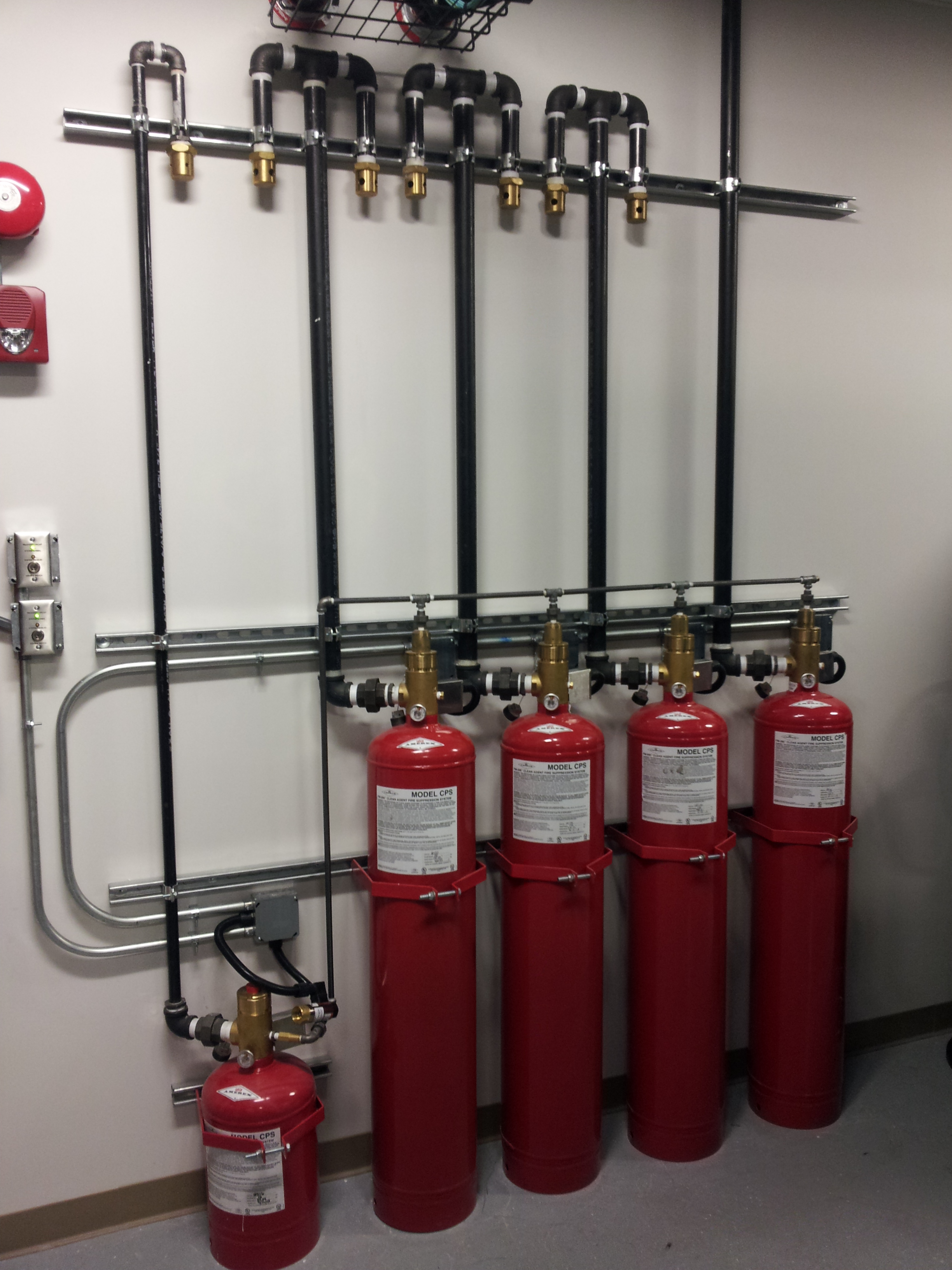 clean agent fire suppression system
